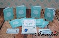 Teal Passport Invitations to Honduras